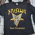 """Krisiun - TShirt or Longsleeve - soul devourer """"conquerors of Armageddon"""" tour 2000"""