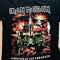 Iron Maiden A Matter Of Life And Death - Unofficial T-Shirt