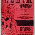 Manilla Road Battleroar Dream Weaver - 26 & 27.10.2002 Official Concert Poster