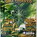 Bolt Thrower Suicidal Angels Inveracity Terrordrome Mass Infection - 29 & 30.05.2010 Official Concert Poster Other Collectable