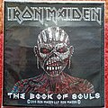 Iron Maiden - Patch - Iron Maiden The Book Of Souls - 2015 Official Patch SEALED