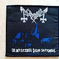 Mayhem De Mysteriis Dom Sathanas - 2009 Official Patch