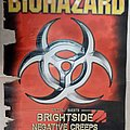 Biohazard Brightside Negative Creeps - 03.12.2002 Official Concert Poster Other Collectable