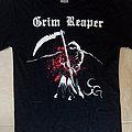 Grim Reaper - 2011 Official Athens & Cyprus Tour T-Shirt
