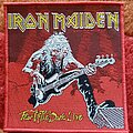 Iron Maiden - Patch - Iron Maiden Fear Of The Dark Live - 2011 Official Patch