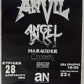 Anvil - Other Collectable - Anvil Angel Dust Marauder Angelo Perlepes' Mystery Raging Storm - 28.04.2002...