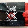 Mayhem - Tape / Vinyl / CD / Recording etc - Mayhem Ordo Ad Chao - 2007 Full-Length Limited 3000 Red Metal Slipcase