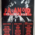 Paranoid Hellenic Festival (GRE) - 08-10.03.2003 Official Concert Poster
