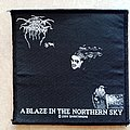 Darkthrone A Blaze In The Northern Sky - 2009 Official Patch