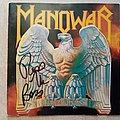 Manowar Battle Hymns - SIGNED Tape / Vinyl / CD / Recording etc