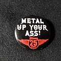 Metal Hammer Metallica Metal Up Your Ass - Official 25 Years Anniversary