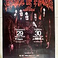 Cradle Of Filth - 29 & 30.05.2004 Official Concert Poster Other Collectable
