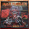 Iron Maiden - Patch - Iron Maiden A Real Dead One - 2011 Official Patch