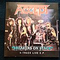 Accept Breakers On Stage - 1998 EP BMG Records & Metal Hammer Edition Tape / Vinyl / CD / Recording etc