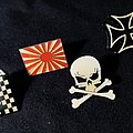 Rising Sun Japan Iron Cross Skull & Bones Ska - Various Pins
