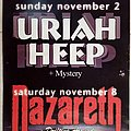 Uriah Heep - Other Collectable - Uriah Heep Nazareth Angelo Perlepes' Mystery Drifting Around - 02 & 08.11.2003...