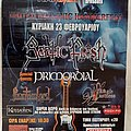 Septic Flesh Primordial Phantom Lord Fragile Vastness - 23.02.2003 Official Concert Poster Other Collectable