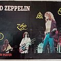 Led Zeppelin - Official Metal Hammer Magazine Poster Other Collectable