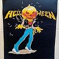 Helloween Pumpkin Head - Unofficial Back Patch