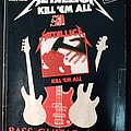 Metallica Kill 'Em All - 1990 Official Bass Guitar Series