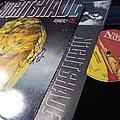 Nightshade - Dead Of Night 12'' Vinyl 1991 SIGNED Tape / Vinyl / CD / Recording etc