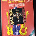 Guns N' Roses Appetite For Destruction - 1989 Official Bass Guitar Series Other Collectable