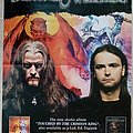 Demons & Wizards Touched By Crimson King - 2005 Official Album Promotional Poster Other Collectable