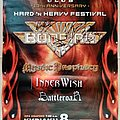 Bonfire Mystic Prophecy Inner Wish Battleroar - 08.10.2006 Official Concert Poster SIGNED Other Collectable