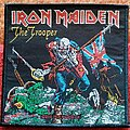 Iron Maiden - Patch - Iron Maiden The Trooper - 2010 Official Patch