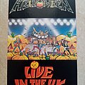 Helloween - Other Collectable - Helloween Live In The U.K. - 1990 Official Postcard