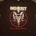Beherit - TShirt or Longsleeve - Beherit - Dawn of Satan's Millennium shirt
