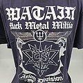Watain - TShirt or Longsleeve - Watain Black Metal Militia Asian Division