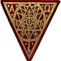 The Devil's Blood - Patch - The Devil's Blood The Thousandfold Epicentre Patch red border