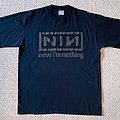 Nine Inch Nails - TShirt or Longsleeve - 1994 - Nine Inch Nails - Now I'm Nothing