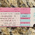 Alice In Chains - Other Collectable - 1993 - Lollapalooza Ticket
