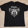 Vital remains t shirt