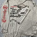 Entombed 93 hollow man/some people just wont take ..long sleeve TShirt or Longsleeve