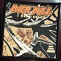 Overkill - Patch - Overkill - I Hear Black Woven Patch