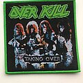Overkill - Patch - Overkill - Taking Over Bootleg Woven Patch