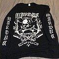 Marduk - TShirt or Longsleeve - Marduk - Frontschwein (Shield) Longsleeve