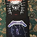 Kreator - Patch - Kreator - Enemy of God Back & Metallica - Ride The Lightening Patches