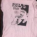 Black Flag - TShirt or Longsleeve - Black Flag Police Story short sleeve shirt *vintage* (XL)