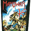 Manowar - Patch - Manowar Backpatch Hail to England