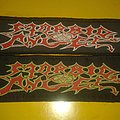Morbid Angel - Strip ( Red/White & Red/Neon Green ) Patch