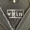 "Vein - TShirt or Longsleeve - Vein ""Rippingyourfaceoff"" Longsleeve (Black)"