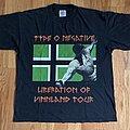 "Type O Negative - TShirt or Longsleeve - Type O Negative ""Liberation Of Vinland Tour"" Shirt"