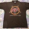 Slayer - TShirt or Longsleeve - Slayer Hell Awaits 1991