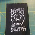 Napalm Death - Patch - Naplam Death Reaper logo