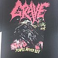 Grave - TShirt or Longsleeve - Youll never SEE