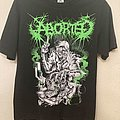 Aborted Shirt. Size M